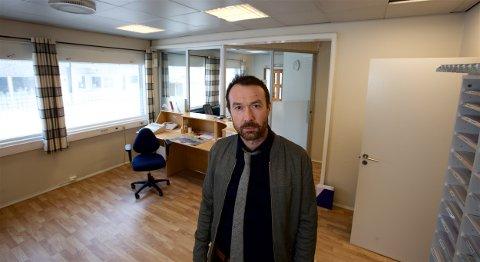 SKREDPROBLEMER: ordfører Ørjan Albrigtsen i Skejrvøy kommune.