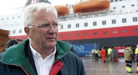 Mangeårig styreleder Trygve Hegnar.