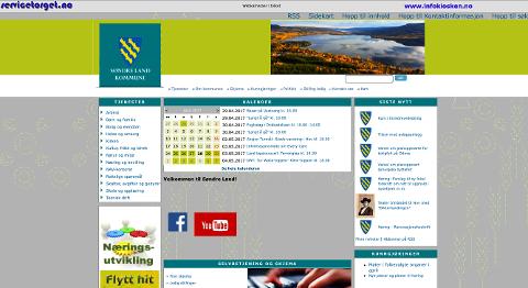 Søndre Land kommunes hjemmeside er ikke lenger mulig å finne ved hjelp av verdens mest benyttede søkemotorer og internettlesere, annet enn som en undersida på domenet servicetorget.no
