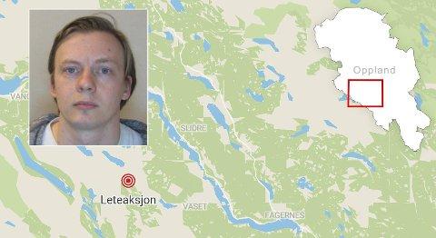 MELDT SAVNET: Mannen som ble meldt savnet er Lars Ronæs Afdal. Han ble funnet i god behold mandag kveld.