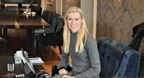 NYTT ELEMENT: Podkasten «The Nordics Unveiled» er Eldbjørg Hemsings nye prosjekt. Den første episoden slippes 10. november.