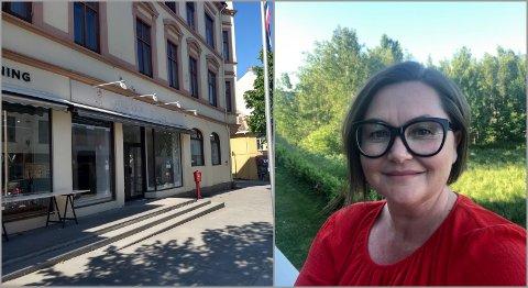 DRØMMEN: Tina Bernholdt Rygh-Amundsen (45) følger nå drømmen og åpner barnebutikk midt i Gjøvik sentrum.