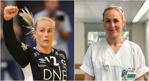 HÅNDBALLPAUSE: Eline Fagerheim har valgt å prioritere sykepleierutdanningen i tida framover.