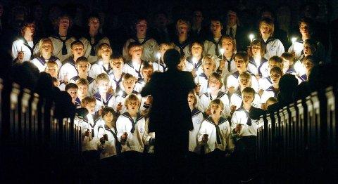 SØLVGUTTENE: Sølvguttene har gjort det til tradisjon å synge inn julen i Kolben kulturhus, hvor koret stiller 21. desember.