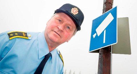 – Det ble bra fangst i helga, sier seksjonssjef Morten Nystuen ved Tolletaten i Kongsvinger. Foto: Jens Haugen