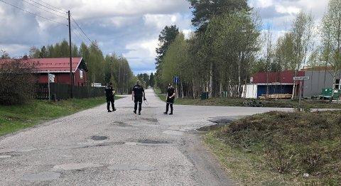 SAMMENSTØT: En lett motorsykkel og en varebil var involvert i et trafikkuhell i Vindheiavegen torsdag.