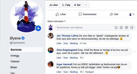 Inge Møller lurte på om han som hyttegjest er velkommen i år, og fikk en del svar på Facebook.