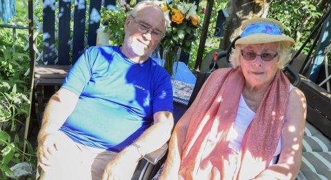 1 Diamanter: Sverre og Kirsten Mogård-Larsen har vært gift i over 60 år