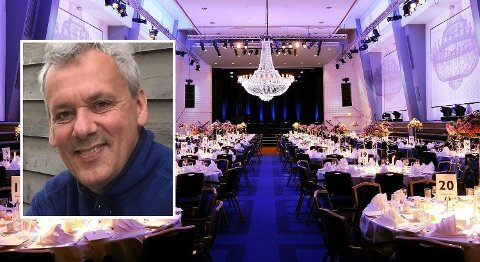 NAV-LEDERE GJORDE NARR AV NAVERE: LO-leder i Stavanger og Nav-ansatt gjennom 30 år , Jo Jenseg, hørte vitsen om Nav-klienter første gang i 2009. Alle ansatte i Nav i Rogaland var samlet i Atlantic hotels store konferansesal, da en fra ledelsen i LO nasjonalt slo vitsen fra scenen. Foto: (Privat / Radisson Blu Atlantic Hotel / Facebook)
