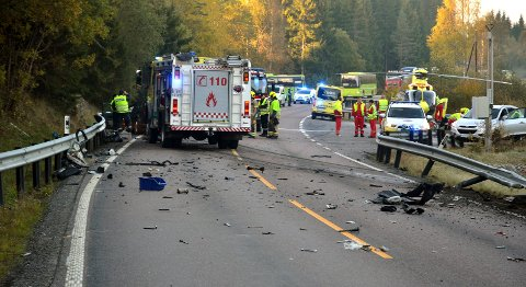 Tragisk: Faren til den dømte sjåføren i 40-årene omkom i ulykken på Kompveien. Nå er sønnen dømt.Foto: Roger Ødegård