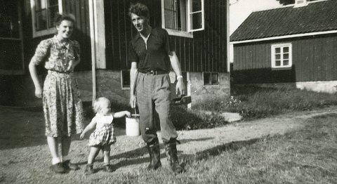 Måtte flykte: I 1943 måtte ekteparet Gerd og Alf Pettersen selv flyktet til Sverige, etter å ha hjulpet jøder og motstandsfolk over grensa. Først 7. juni 1945 kunne de vende hjem med sønnen Jon Elling. FOTO: PRIVAT