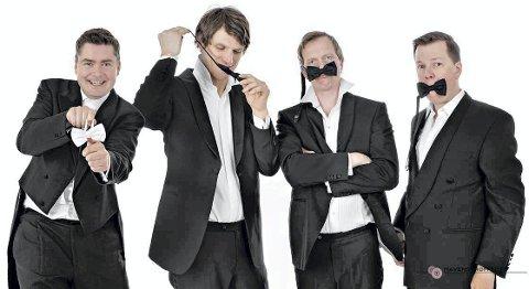 STEMMER I KIRKEN: Det er tredje gang Tenorane lager fest i Slemmestad kirke når Musikk i Slemmestad byr på sin 10. nyttårskonser i januart.