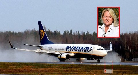 Flyvninger blir det, men langt færre enn vi er vant til, melder Tine Kleive-Matisen.