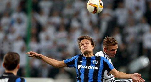 Jelle Vossen (f.v.) og Club Brugge får revansj i dag, tror vår oddstipper.