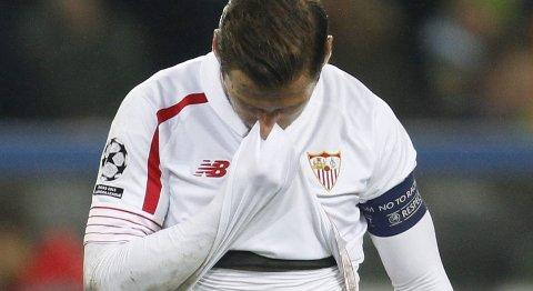 Sevilla og Grzegorz Krychowiak får trøbbel mot et motivert Juventus-lag hjemme i Andalucia.
