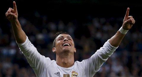 Real Madrids Cristiano Ronaldo har scoret fem mål så langt denne sesongen. Fortsetter han å score i kveldens kamp mot Atletico?