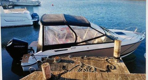 Det var denne båten som ble funnet.