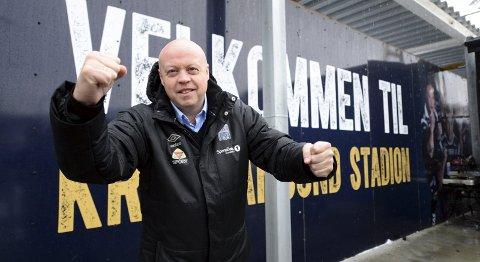 Daglig leder Kjetil Thorsen i KBK skal fortelle om veien til suksess for klubben.