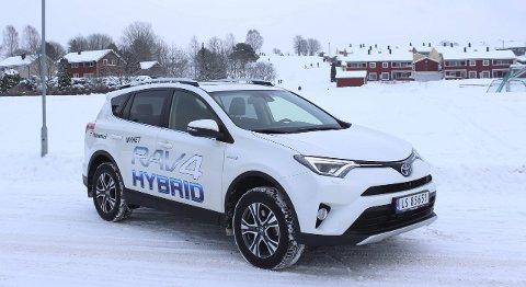 Tidsriktig SUV: Nye Toyota RAV4 Hybrid er Norges nye storselger.