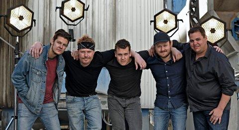 PÅ SCENEN: Bandet Rotlaus skal spille opp til dans og fest under Steinkjerfestivalen til sommeren.