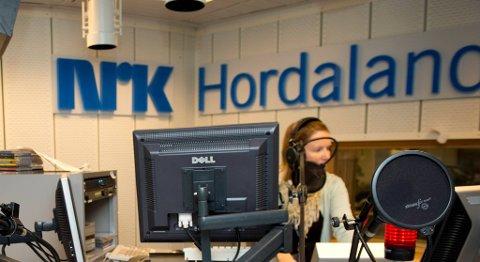 NRK Hordaland blir truleg underlagt Region vest for å få ned talet på leierer i NRK. FOTO: ARNE RISTESUND
