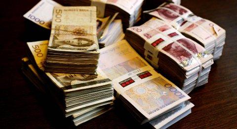 Totalt har privatpersoner drøyt 7,2 milliarder kroner i inkassogjeld i de fire vestlandsfylkene. ILLUSTRASJONSFOTO: SKJALG EKELAND