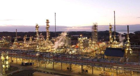Oljen fra Johan Sverdrup-feltet skal ikke raffineres på Mongstad, har Statoil bestemt. FOTO ØYVIND HAGEN, STATOIL