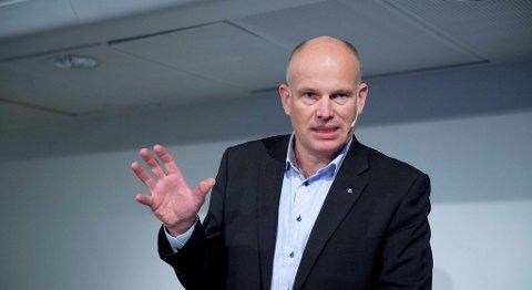 Konserndirektør for utvikling og porduksjon i Statoil, Arne Sigve Nylund, mener det haster med å lage en konsekvensutredning om å åpne områdene utenfor Lofoten, Vesterålen og Senja for oljevirksomhet. FOTO: MAGNE TURØY