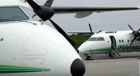 Avinor har bestemt at ti flyplasser skal styres fra et tårnsenter i Bodø. Blant deme r to i Sogn og Fjordane og en i Rogaland. FOTO: DAG NESBØ FRØYEN, FIRDAPOSTEN