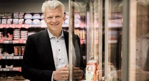 Konsernsjef Erik Volden ser på årets utbetaling til Kavlifondet som ekstraordinær. FOTO: KAVLI
