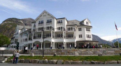 Bergenske EGD Property er ny eier av Hotel Vøringsfoss i Eidfjord. FOTO: CREATIVE COMMONS