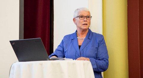 Fylkesdirektør i Nav Hordaland, Anne Kverneland Bogsnes, mener økningen i antall utlyste stillinger viser at det finnes muligheter for dem som er uten jobb i dag. FOTO: VIDAR LANGELAND