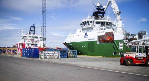 CCB Mongstad har landa ei femårig kontrakt med Wintershall Norge AS, for å levera basetenester til Brage-feltet i Nordsjøen. FOTO: YNGVE GAREN SVARDAL