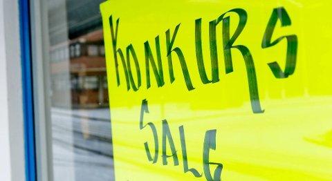 Tallene over konkurser er nitrist lesning i Hordaland til nå i år.