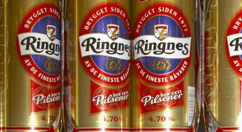 Om det bli det bryggeristreik vil det raskt bli tomt for bokser av denne typen i butikkene. FOTO: NTB SCANPIX