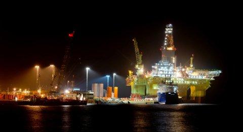 Lavere fall i oljeinvesteringene er blant faktorene som bidrar til lavere arbeidsledighet i 2017, mener SSB. FOTO: MAGNE TURØY