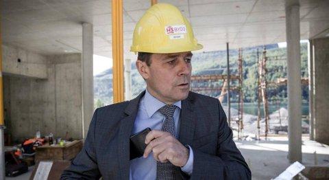 – Dette er grensesprengande, seier dagleg leiar i Hoven Loen, hotelldirektør Richard Grov. FOTO: BENT ARE IVERSEN