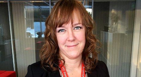 """SATSER PÅ VESTFOLD: Frende Forsikring er ute etter """"sultne"""" salgs- og rådgivningsfolk som vil selge deres produkter i Vestfold, sier kommunikasjonssjef Heidi Tofterå Slettemoen."""