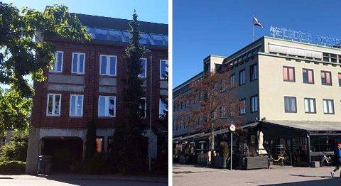 NY BY: Structor etablerte seg i Statens Park i sommer. 1. april flyttet de inn i Thor Dahl-bygningen på kaikanten i Sandefjord.