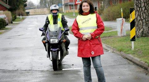 Blir kommunalt: Ås kommune overtar ansvaret for Frivilligsentralen. Her leder for Frivilligsentralen, Tone Eng.
