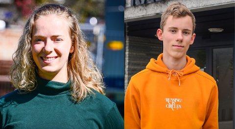 LEI AV AT UNGDOM GENERALISERES: Tuva Todnem Lund og Daniel Martinsen mener at unge i Ås som gruppe ikke er ansvarlige for enkeltindividers handlinger.