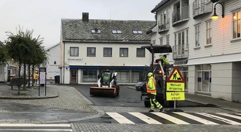 ØVRE PARK: Området i Øvre Park er på listen over det som har blitt asfaltert med «korona-asfalt»