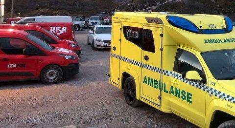 Ulykken skjedde et godt stykke fra denne parkeringsplassen. Foto: Tor Magne Gausdal