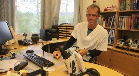 Avventer: Jarand Gjestland vil bruke tiden fram til neste sommer, for å bestemme veien videre.Foto: Tore John Andreassen