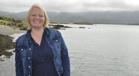 PÅ TOPP: Mona Fagerås har vært aktiv i SV siden hun var 17 år. Nå gleder hun seg til valgkampen.Foto: Magnar Johansen
