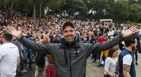 Festivalsjef Gøran Aamodt i Parkenfestivalen håper å kunne samle et stort publikum i august, selv om den ordinære festivalen måtte avlyses.