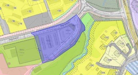 Hensikten med planarbeidet er å tilrettelegge for parkering, kiss and ride-sone og endring av adkomstveier inn og ut av området