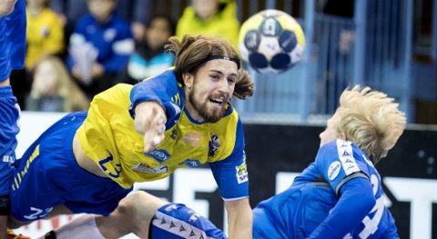 I form:: Julius Andersson og Fyllingen er ustoppelig om dagen. Andersson ble Fyllingens toppscorer med sine åtte fulltreffere. Arkivfoto: Eirik Hagesæter