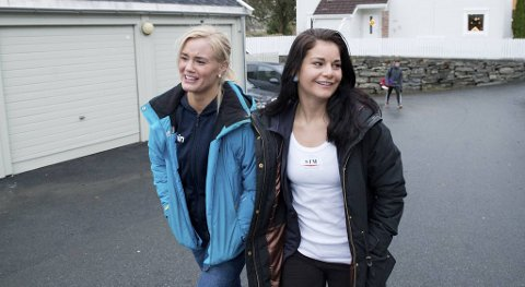 Fam Elgan (t.v.) og Marielle Hansen er to tidligere landslagsboksere.