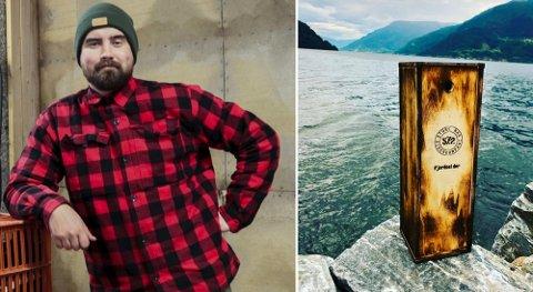 For ett år siden plasserte Eirik Nå Aga i Store Naa Siderkompani 200 flasker på et hemmelig sted i Hardangerfjorden. Nå har han hentet opp tjue av flaskene og lagt de ut for salg.